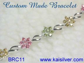 fine bracelet, custom made gem stone bracelets from Kaisilver