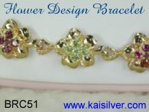 custom gold bracelet 14k or 18k gold bracelets