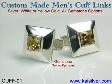 man jewelry custom cuff link