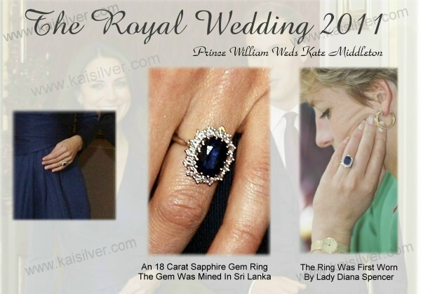 kate middleton big sapphire weddigng ring