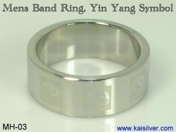 big man wedding band custom made