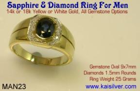 Gents jewellery custom made