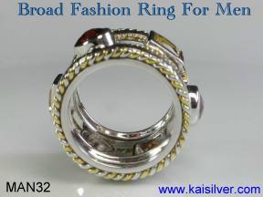 Rings for men, fashion custom made