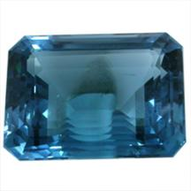 Topaz gemstone blue