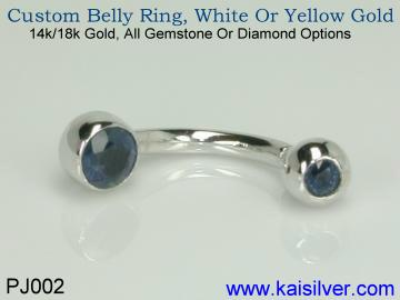 Belly ring PJ002