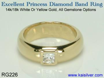 princess ring wedding band for men