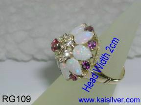 antique style princess ring