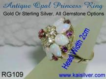 Asian princess ring