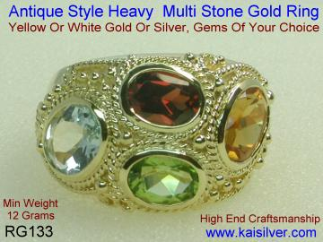 Custom Rings With Gems Of Your Choice