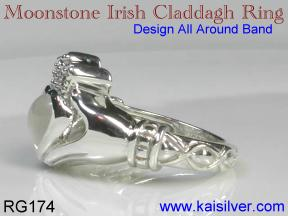 celtic rings, the Irish Claddagh ring