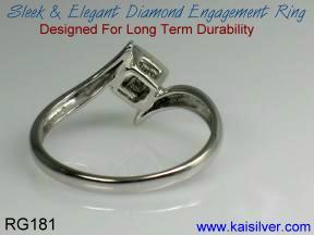 Diamond ring engagement