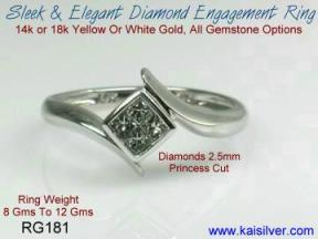 custom made diamond wedding rings
