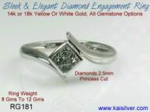 white gold diamond ring promise rings