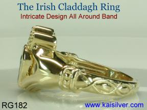 Friendship Irish Claddah rings