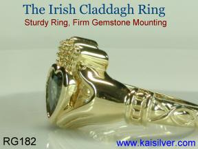 Claddah Irish ring
