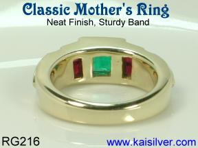 gold ring for mother's day