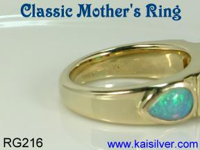 mother's ring custom made