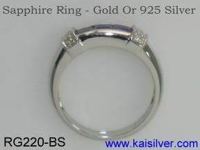 sapphire gemstone rings
