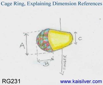 cage ring dimension references