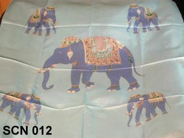 Thai silk designer scarf