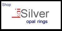 opal gemstone rings kaisilver