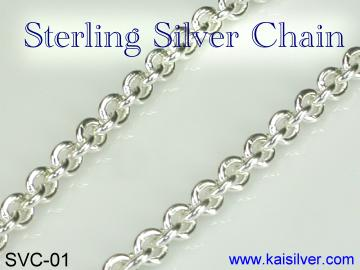 sterling silver chain for pendant