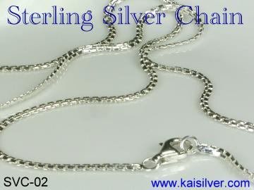 silver chain for lady